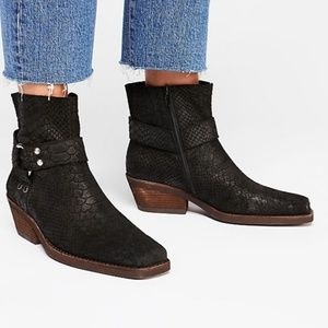 New Free People Fairfax Western Boot 6 Women's